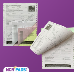 Continuous NCR Forms