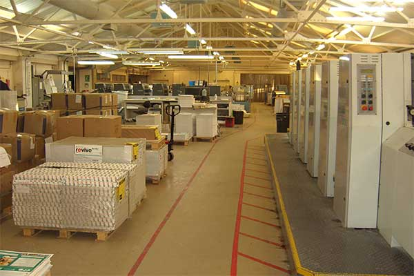 Inside our print works | © NCR Pads Ltd